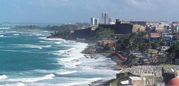 Old Town San Juan from El Morro