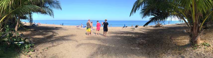 Rincon Puerto Rico Sandy Beach